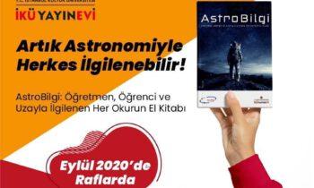 """""""AstroBilgi"""" Kitabı Çıktı"""